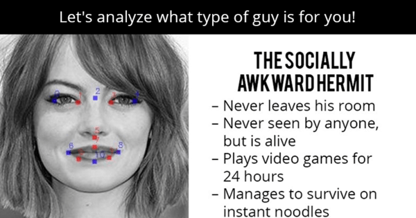 what type of guy is for you