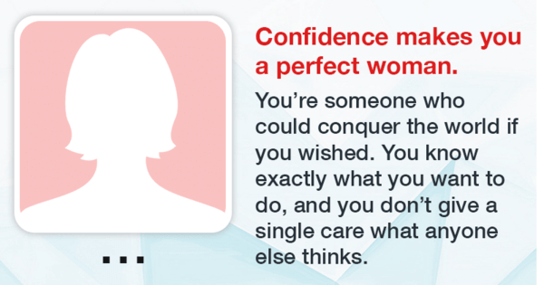 what makes the perfect woman